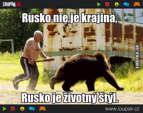 Výsledek obrázku pro vtip o ruském medvědovi