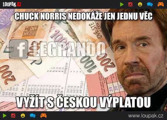 Co Nedokaze Chuck Norris Loupak Cz