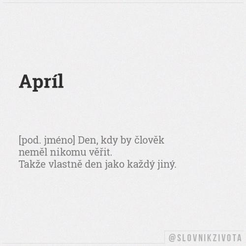 Apríl