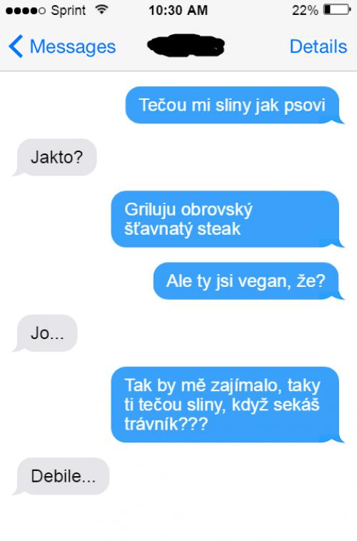 Jak slintá vegan nad jídlem?