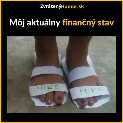 Finanční stav