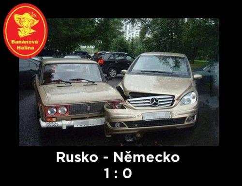Rusko - Německo