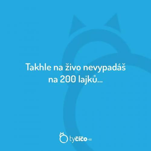 200 Lajků