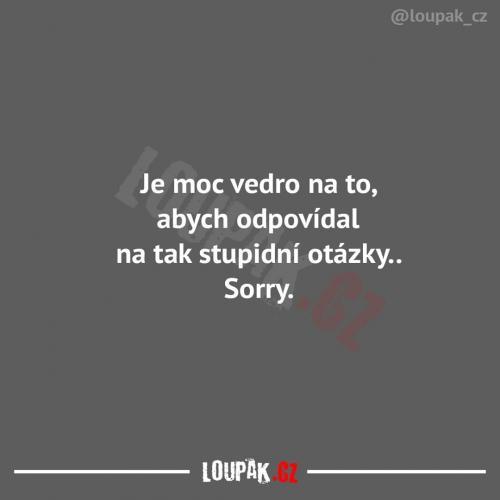 Stupidní