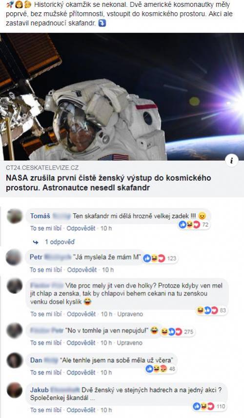 NASA a ženy ve vesmíru