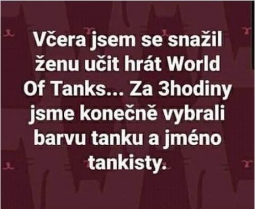 Žena a World of Tanks