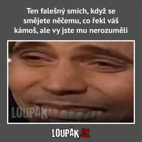 Falešný smích