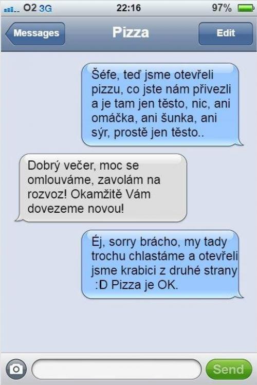 Divná pizza