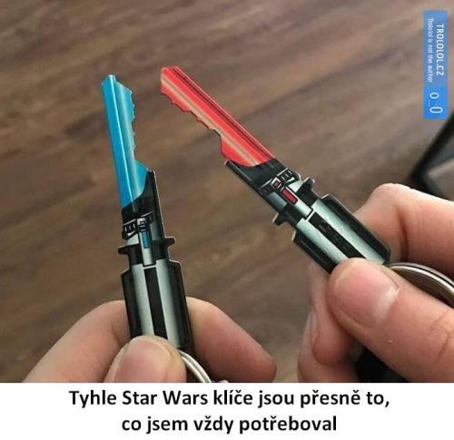 Star Wars klíče