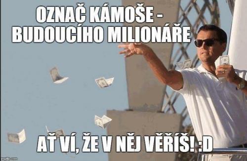 Milionář
