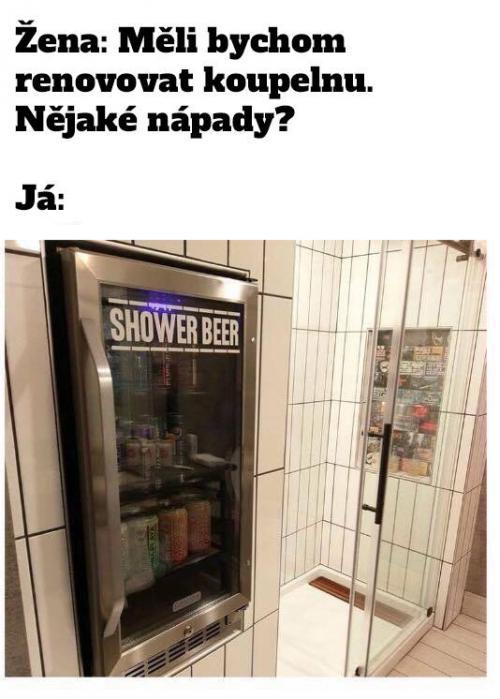 Vylepšená koupelna