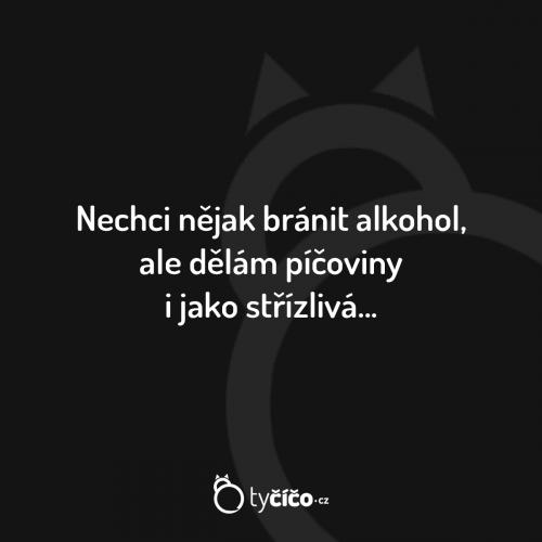 Bránit alkohol