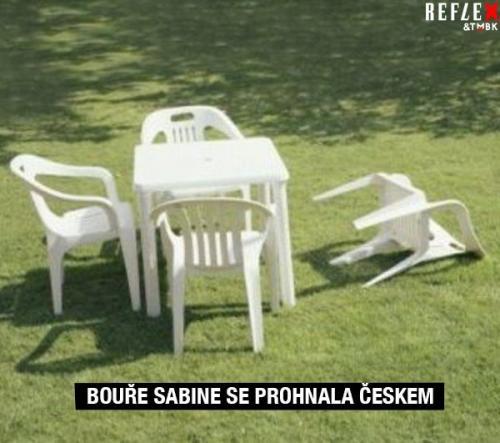 Bouře v Česku
