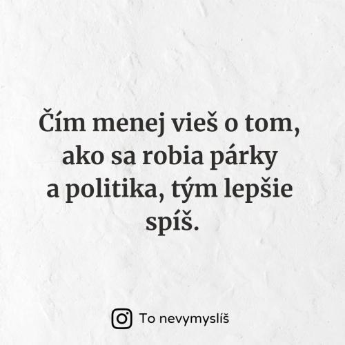 Párky a politika