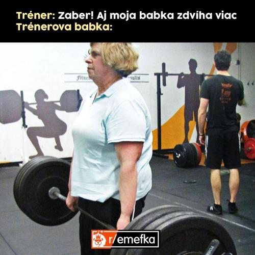 Trenérova babka