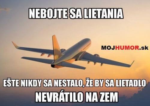 Létání