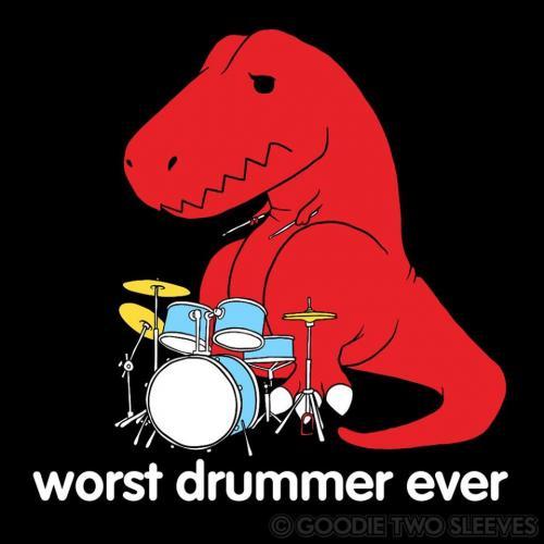 A teď sólo pro bicí