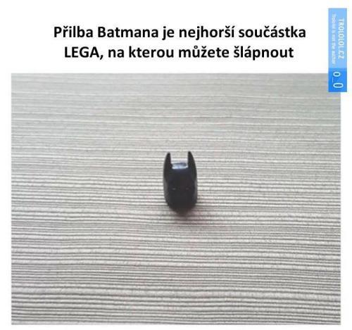 Přilba Batmana