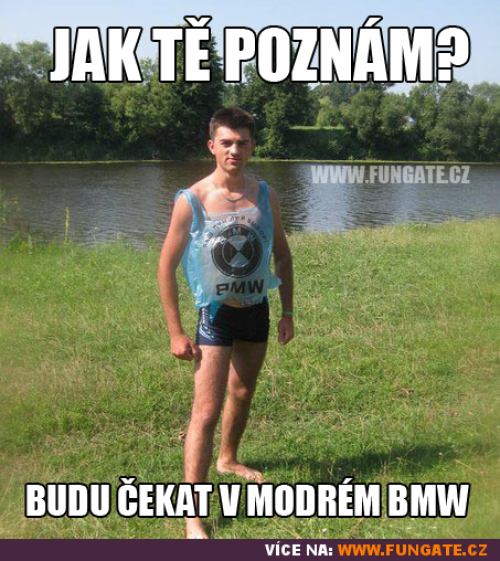 Modér BMW