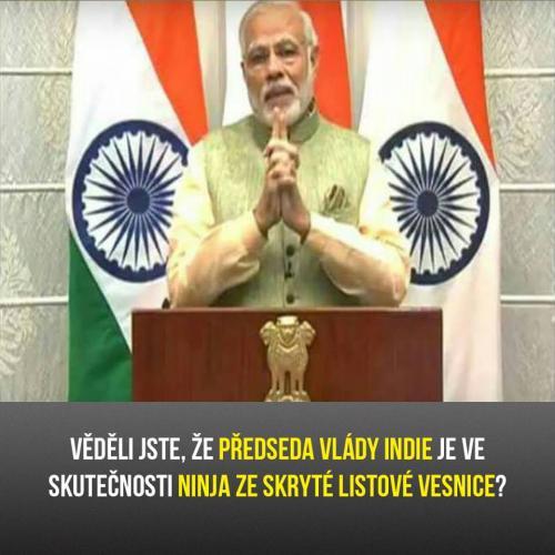 Předseda vlády Indie