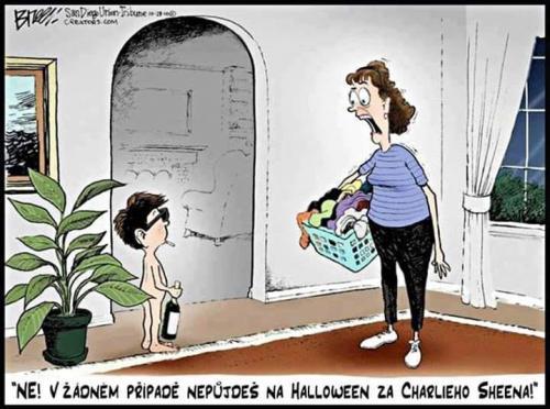Oblek na Halloween
