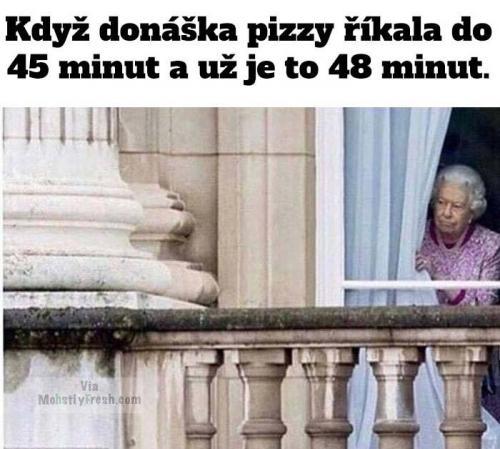 Donáška pizzy