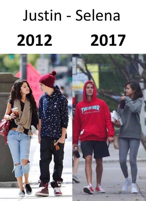 Justin a Selena