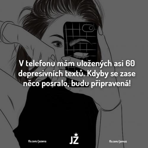 Depresivní texty