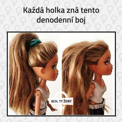 Boj s vlasy