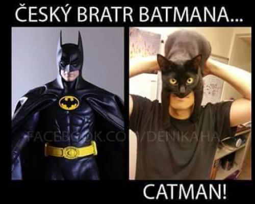 český Batman