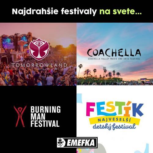 Nejdražší festivaly