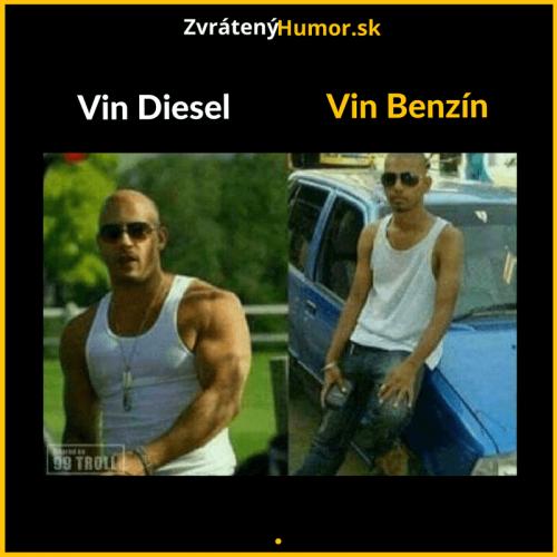 Vin Benzín