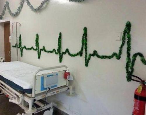 Vánoční výzdoba na ARO