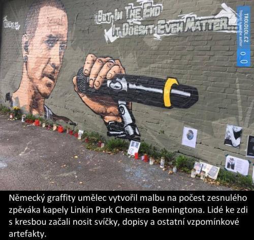 Německé graffiti