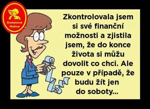 Finanční možnosti