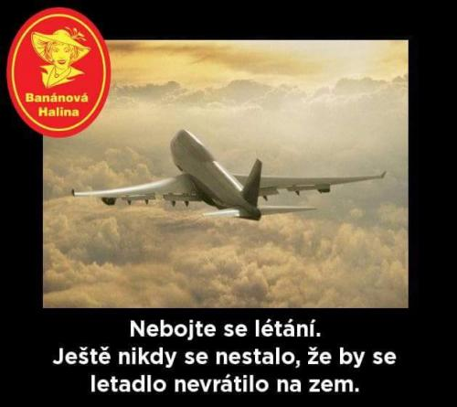 Nebojte se létání