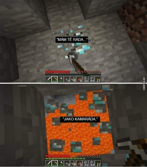 Život je jako Minecraft