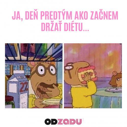 Držet dietu