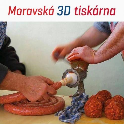 Moravská 3D tiskárna