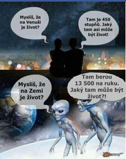 Život na Venuši vs. na Zemi