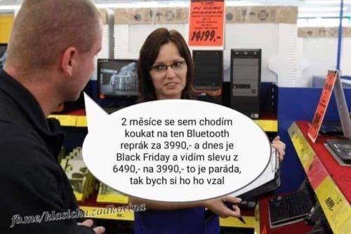Black Friday v praxi