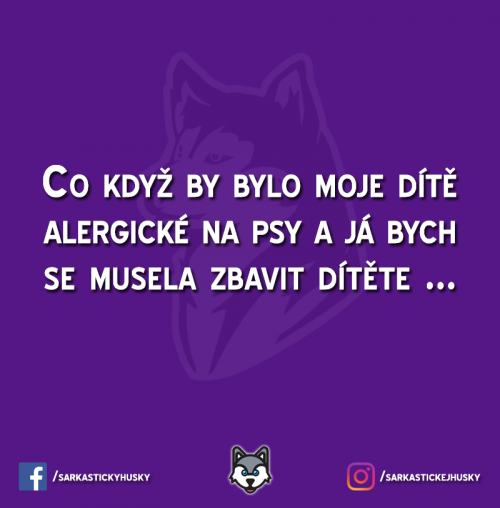 Alergie na psy