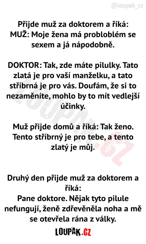 Muž u doktora