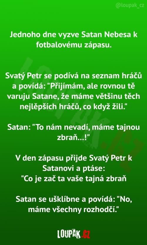 Satan vs. Nebesa