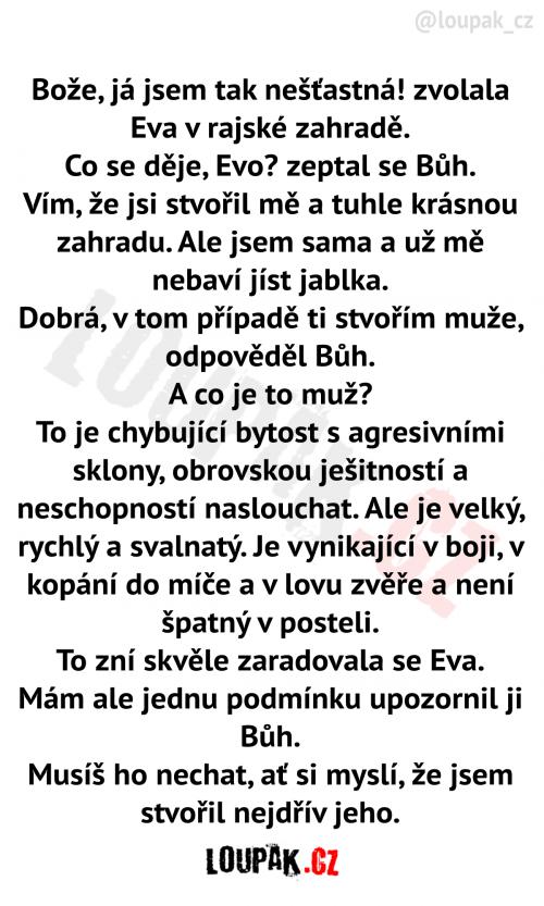 Nešťastná Eva