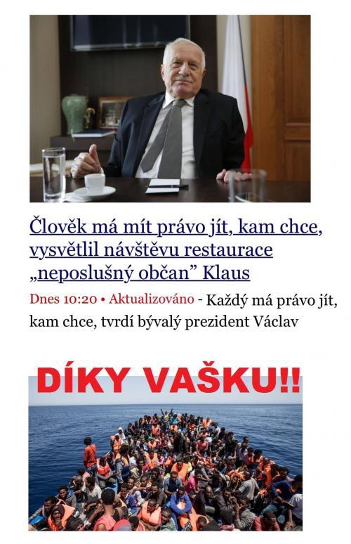 Klaus se opět ozval