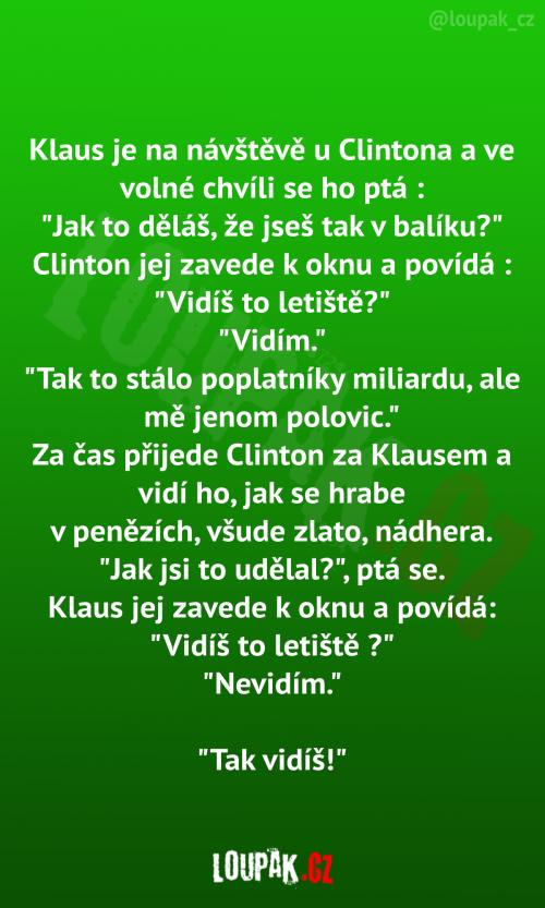 Klaus u Clintona