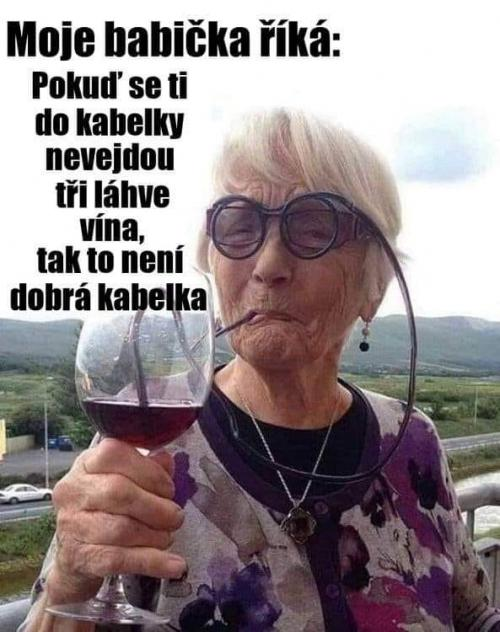 Velmi chytrá babička