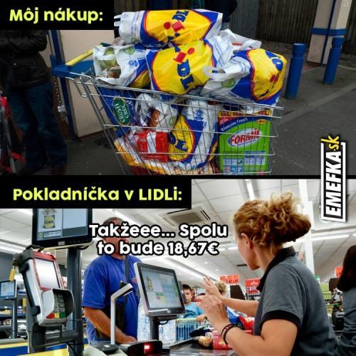 Trošku jiný nákup