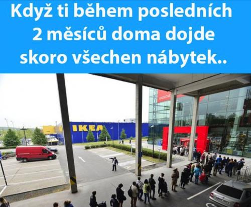 Proč je IKEA plná?